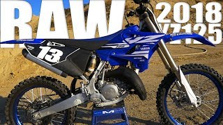 7. 2018 Yamaha YZ125 2 Stroke RAW - Motocross Action Magazine