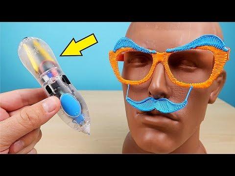 Новая Прозрачная 3Д Ручка 3Doodler Start! Познаватель с бровями! alex boyko