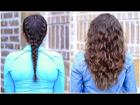 Hairstyles for thin hair without heat : How to Curl Your Hair Without Heat u2014 No Curls