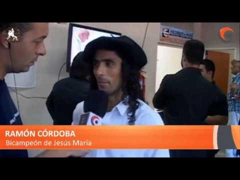 Ramón Córdoba tras el grave accidente sufrido en la primera noche del festival
