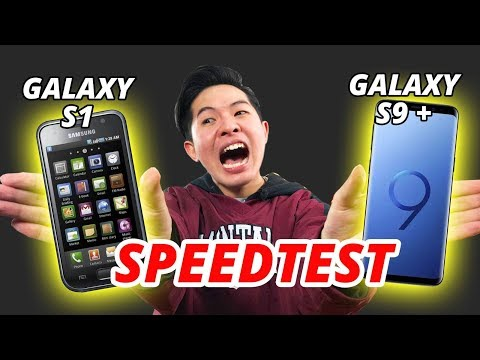SPEEDTEST GALAXY S1 VS GALAXY S9+: KẾT QUẢ SIÊU...SHOCK!!! - Thời lượng: 9 phút, 32 giây.