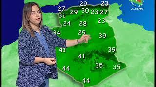 Retrouvez la météo du vendredi 24 mai 2019 sur Canal Algérie