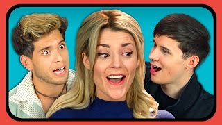 YouTubers React To Oddly Satisfying Compilation