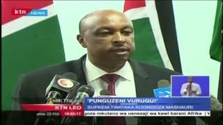 Jamii Ya Kimataifa Kuitaka Serikali Ya Kenya Kuchunguza Visa Vya Polisi Kutumi Nguvu Kupita Kiasi