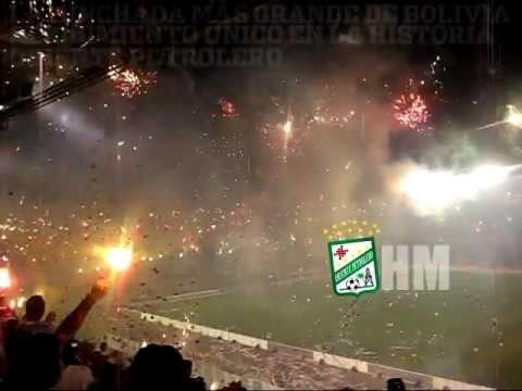 Oriente Petrolero vs Guarani - El mejor recibimiento del futbol - Copa Sudamericana 2012 - Los de Siempre - Oriente Petrolero