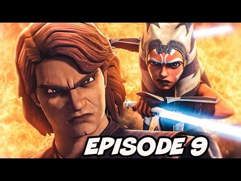 Clone Wars Episode 9 All Things Missed and FULL BREAKDOWN ANAKIN AND AHSOKA TOGETHER
