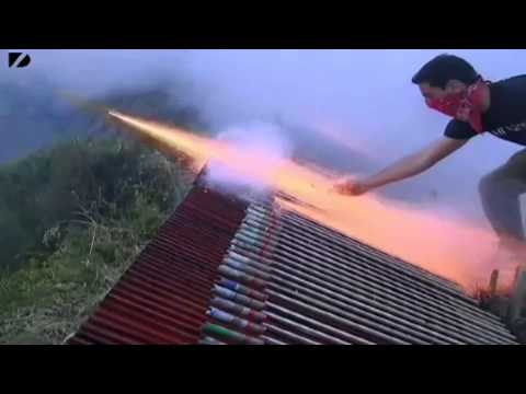 Intense Firework War