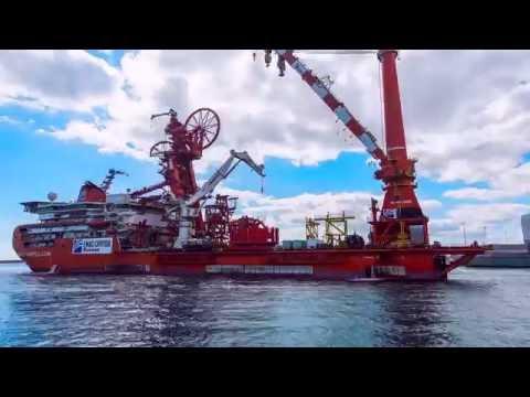 Julimar spools loadout - BAE Systems Henderson