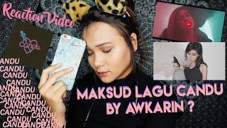 REACTION LAGU ( AWKARIN - CANDU )  BAGUS KOK AKU SUKA.. | Dinda Shafay (Bahasa) Video