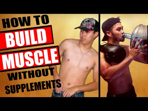 HARDGAINER NATURAL TRANSFORMATION: BUILD MUSCLE WITHOUT SUPPLEMENTS | SKINNY GUY MUSCLE BUILDING
