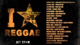 90's Old School Reggae Mix - Beres Hammond, Frankie Paul, Sizzla - I Love Reggae | Jet Star Music
