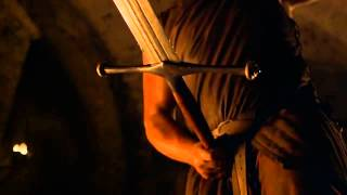 Game Of Thrones Season 4 Opening Scene - Tywin at the Forge