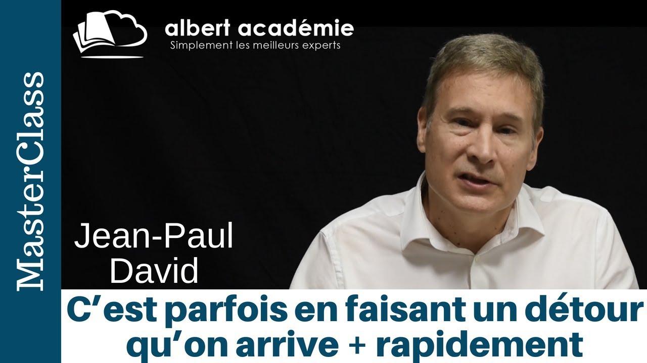 Jean Paul David -Priorité le couple marché/produits