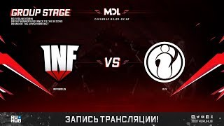 Infamous vs IG.V, MDL Changsha Major, game 1 [Lex]