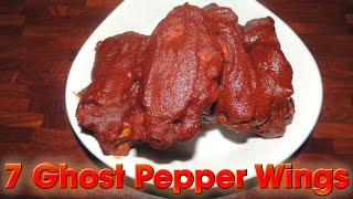 Video Ghost Pepper Wings SIZZLING 7 WING CHALLENGE!! MP3, 3GP, MP4, WEBM, AVI, FLV Juni 2018