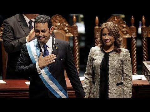Γουατεμάλα: Ορκίστηκε ο νέος πρόεδρος Τζίμι Μοράλες