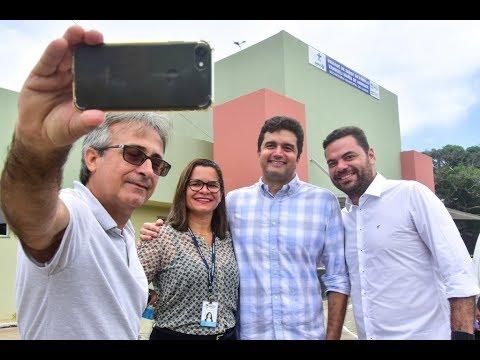 Prefeito Rui Palmeira entrega unidade de saúde em Riacho Doce