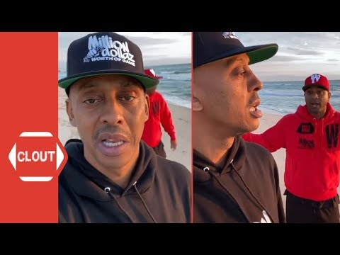 Gillie Da King Gets Annoyed With Wallo For Making Him Walk On The Beach!