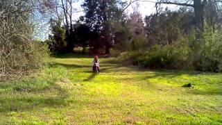8. Eli jumping his CRF 70F