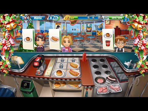 Cooking Fever Level 1 To 10 - Funny Game - Free Online - Free Kids Game