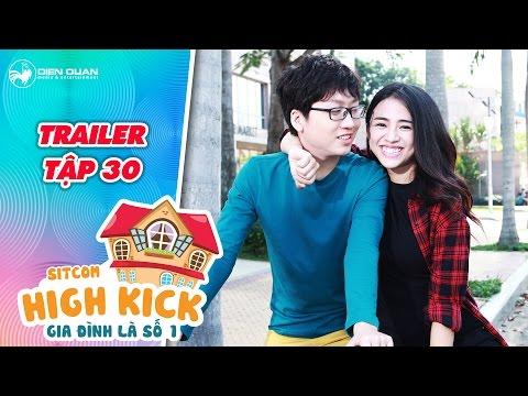 Gia đình là số 1 sitcom | trailer tập 30: Yumi tình tứ nắm tay Đức Minh để chọc tức Đức Mẫn? - Thời lượng: 0:55.