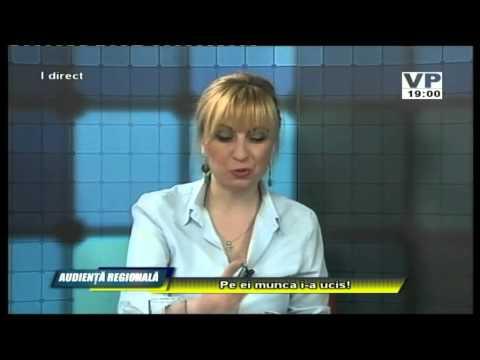 Emisiunea Audiență Regională – Constantin Stoica – 28 aprilie 2015