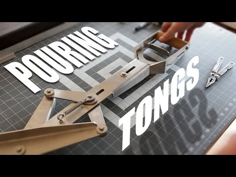 Custom Pouring Tongs for Molten Metal | Design and Assembly [7:01]