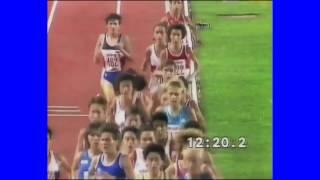 Midde Hamrin 31.58,25 - 4:a - 10.000 - EM i Split 31 aug 1990