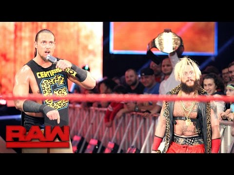 Big Cass and Rusev declare for the Royal Rumble Match: Raw, Jan. 23, 2017
