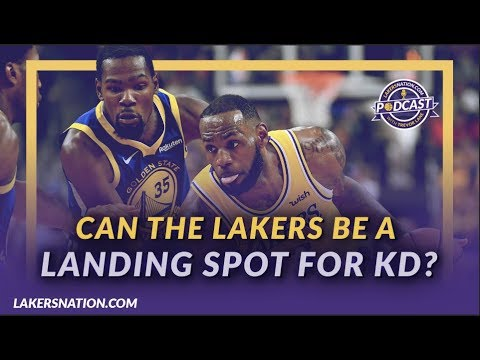Video: Lakers Podcast: How realistic is KD to the Lakers, Should Lakers Consider Melo, & East vs West