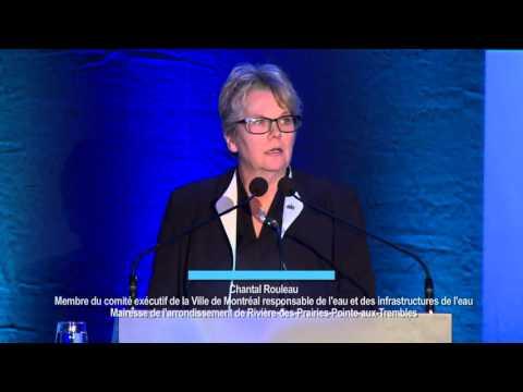 Chantal Rouleau : « L'eau, une ressource à protéger! »