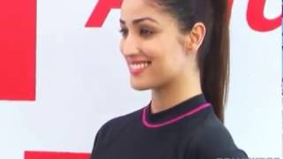 Yami Gautam does Underwater Fitness Training hosted by Speedo