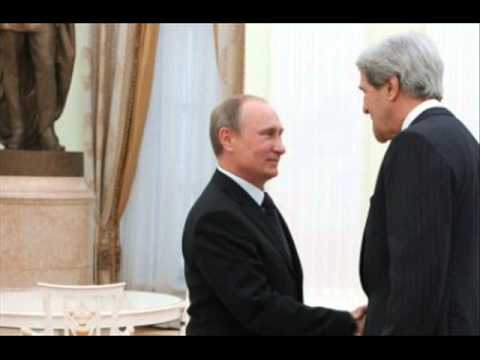 Vladimir Putin accuses John Kerry of lying