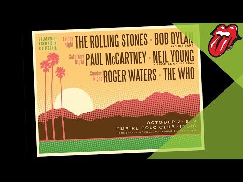 Desert Trip Concert Announced ! Stones, Dylan, Macca, Waters, Young & The Who !