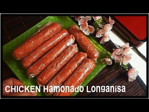 Chicken Longanisa   ( Hamonado )