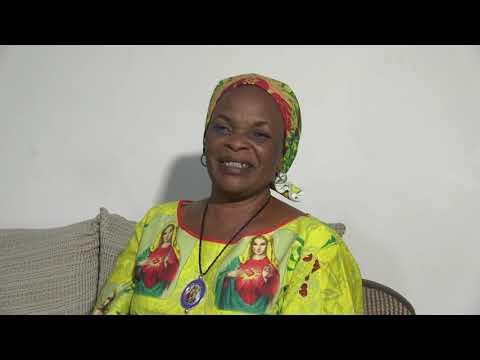 COTE D'IVOIRE: Merci de Madame IRIE Lou  Irié Colette  ACT1