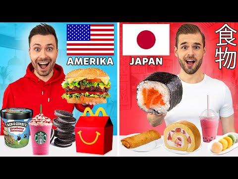 WIE HET LANGST VOEDSEL UIT 1 LAND BLIJFT ETEN WINT! met Rutger *Amerika VS Japan*