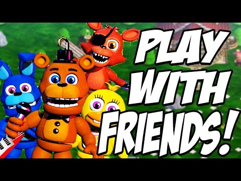FNaF World - Multiplayer Edition: PLAY WITH FRIENDS! NEW MULTIPLAYER FNAF!