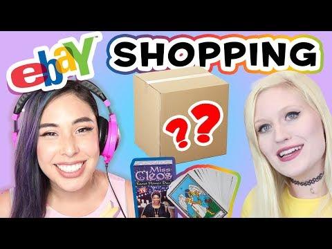 Mystery eBay Gift Box Challenge w/Cybernova! (видео)