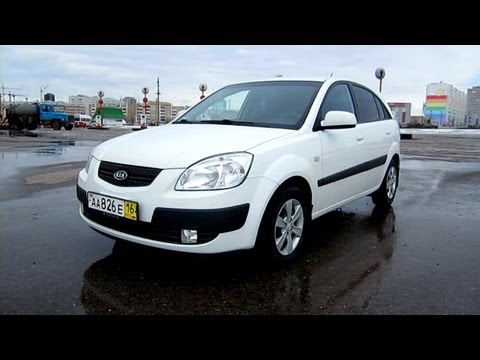 2008 Kia Rio. Start Up, Engine, and In Depth Tour.