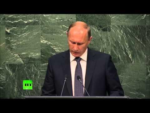 Владимир Путин выступил на 70-й сессии Генассамблеи ООН (видео)