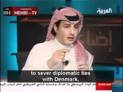 سعودي يرفض الدفاع عن الرسول صلى الله عليه وسلم.