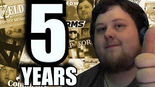 I have been on youtube for over 5 years! that's a long time want to thank everyone for watching___________Buy Potatochief T-shirt: https://www.spreadshirt.com/potatochiefFollow me on Twitter: @PotatoChiefLive Streams on Twitch: http://www.twitch.tv/thepotatochiefDiscord : https://discord.gg/Tum8XpacaPfloWmAI : https://youtu.be/b71w5h4CMmA