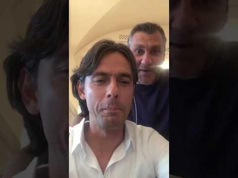 """Vieri sfotte Inzaghi: """"Pomodoro uguale diarrea"""""""