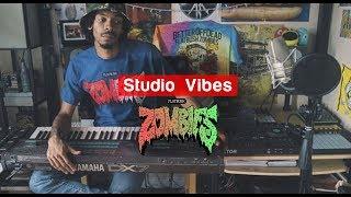 Erick The Architect Making A Beat   Studio Vibes #1