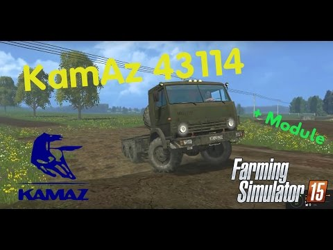 Kamaz 43114 + Modul v1.0