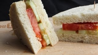 Vegan Shrimp Butter and Tomato Sandwich (8.22.12 - Day 10)
