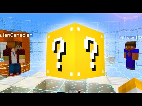 Battle - Minecraft Lucky Block, Minecraft Sky Battle with Rob, Mitch, Vikk and Lachlan. ➨SUBSCRIBE! http://bit.ly/MrWoofless Mitch: http://youtube.com/thebajancanadian Preston: http://youtube.com/preston...