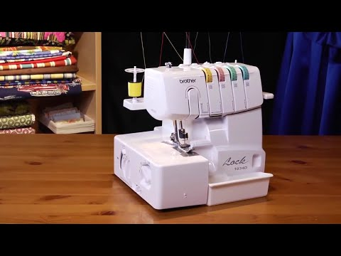 Brother™ 1034D Serger Overview