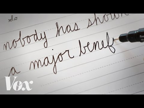Cursive handwriting is dying. But some politicians refuse to accept it.